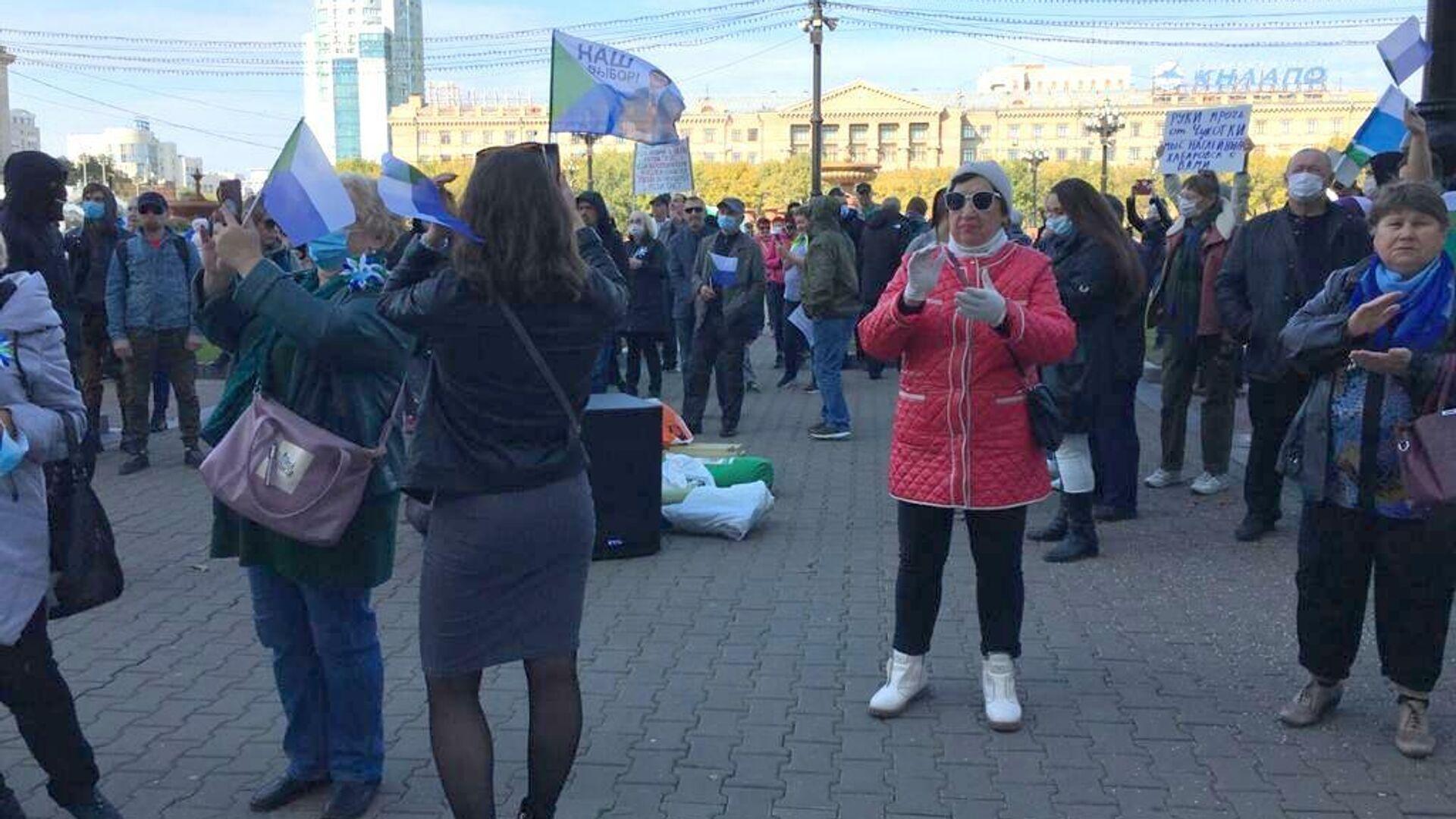 В Хабаровске прекратились несанкционированные митинги в поддержку Фургала