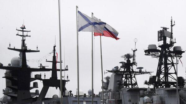 Российский флот проводит крупные учения в Тихом океане