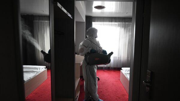 Дезинфекция в гостинице