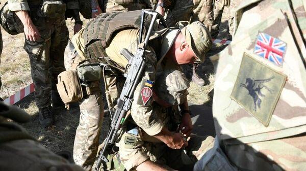 Военнослужащие Украины и Великобритании готовятся к совместным учениям Объединенные усилия - 2020