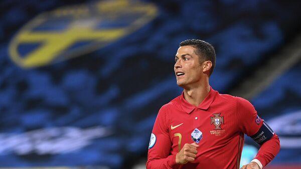 Португальский футбоист Криштиану Роналду