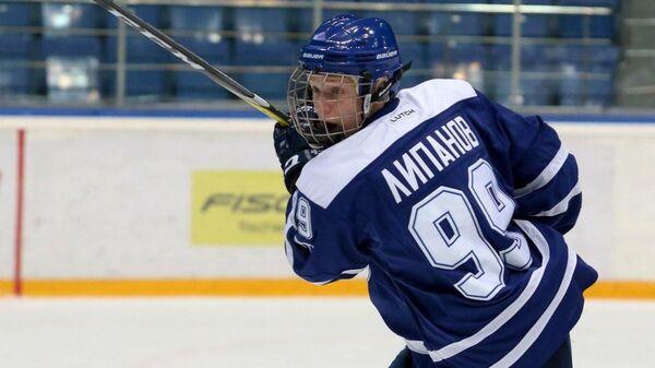 Хоккеист Динамо Алексей Липанов