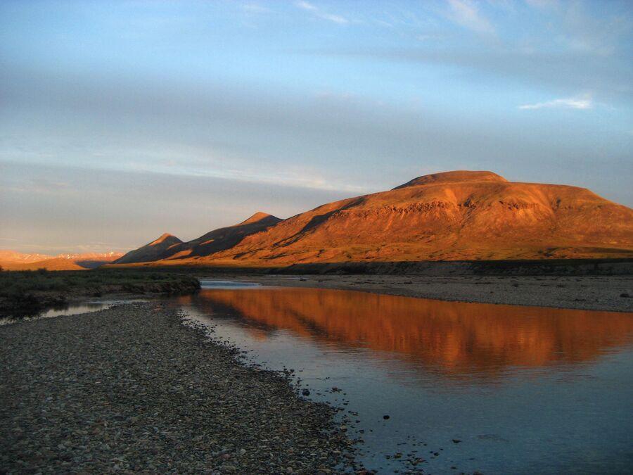 Верхнее течение реки Пегтымель