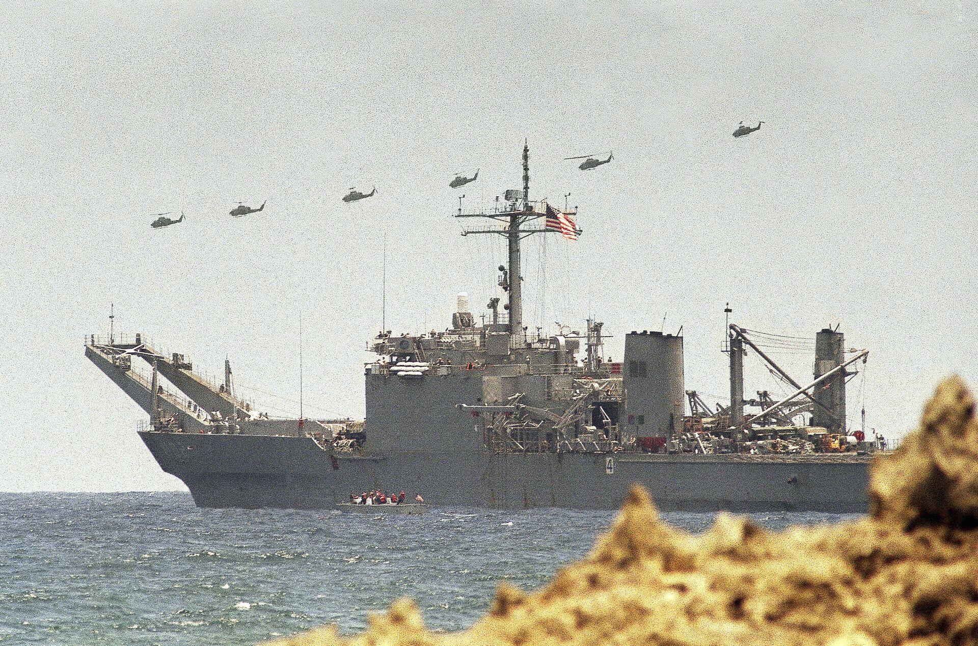 Вывод американских войск из Сомали. 1994 год - РИА Новости, 1920, 19.10.2020
