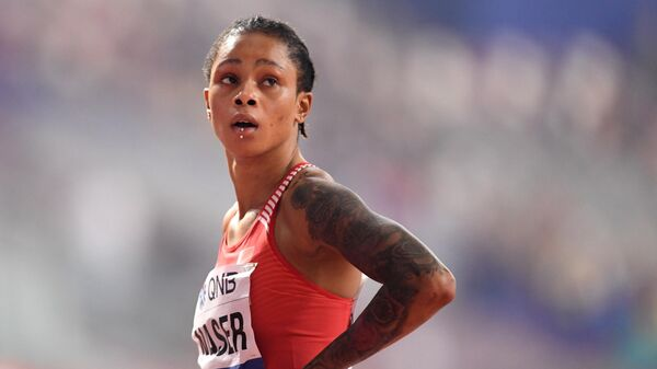 Бахрейнская легкоатлетка Сальва Эйд Насер