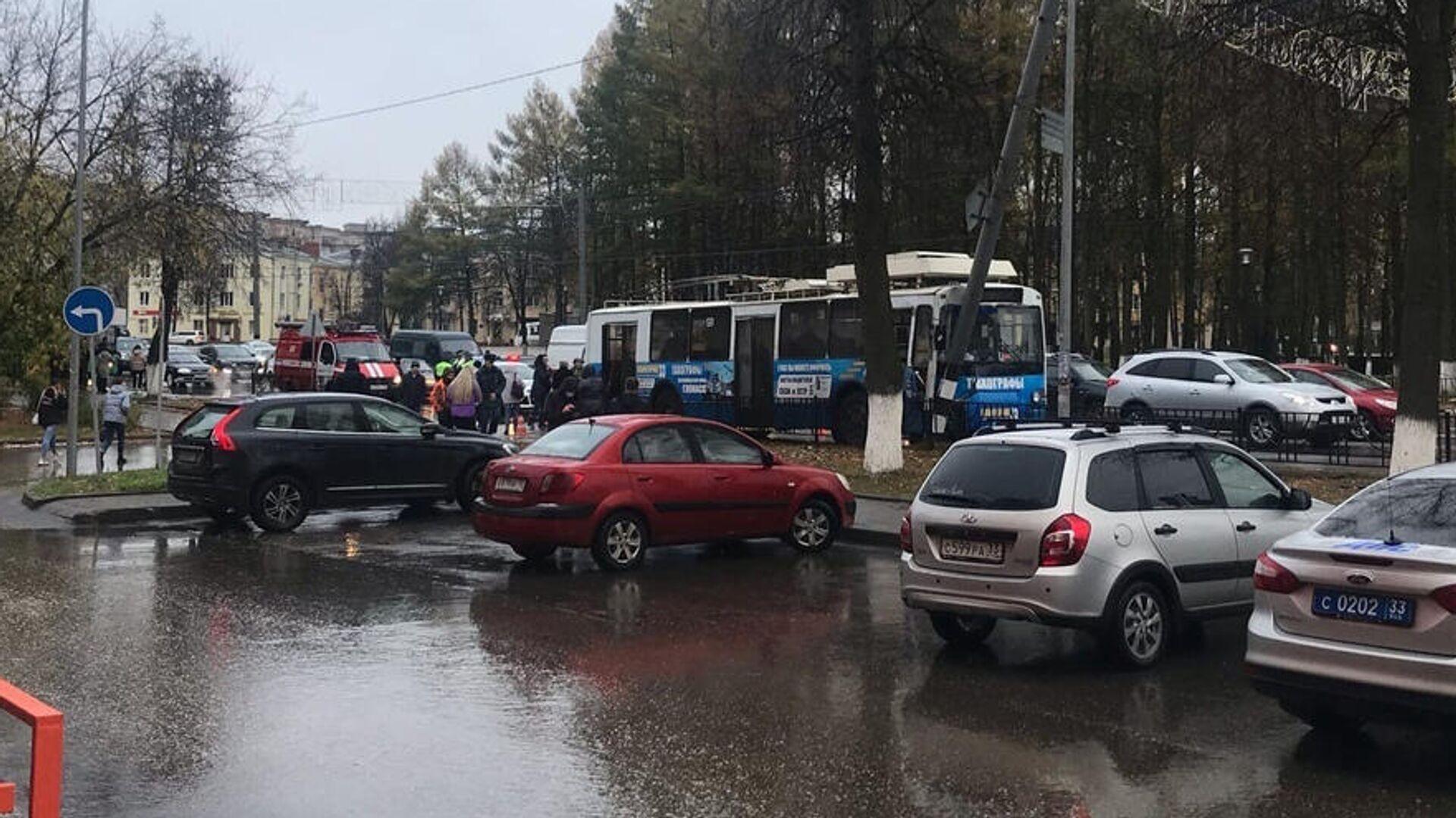 Число пострадавших в ДТП с троллейбусом в Коврове выросло до 15