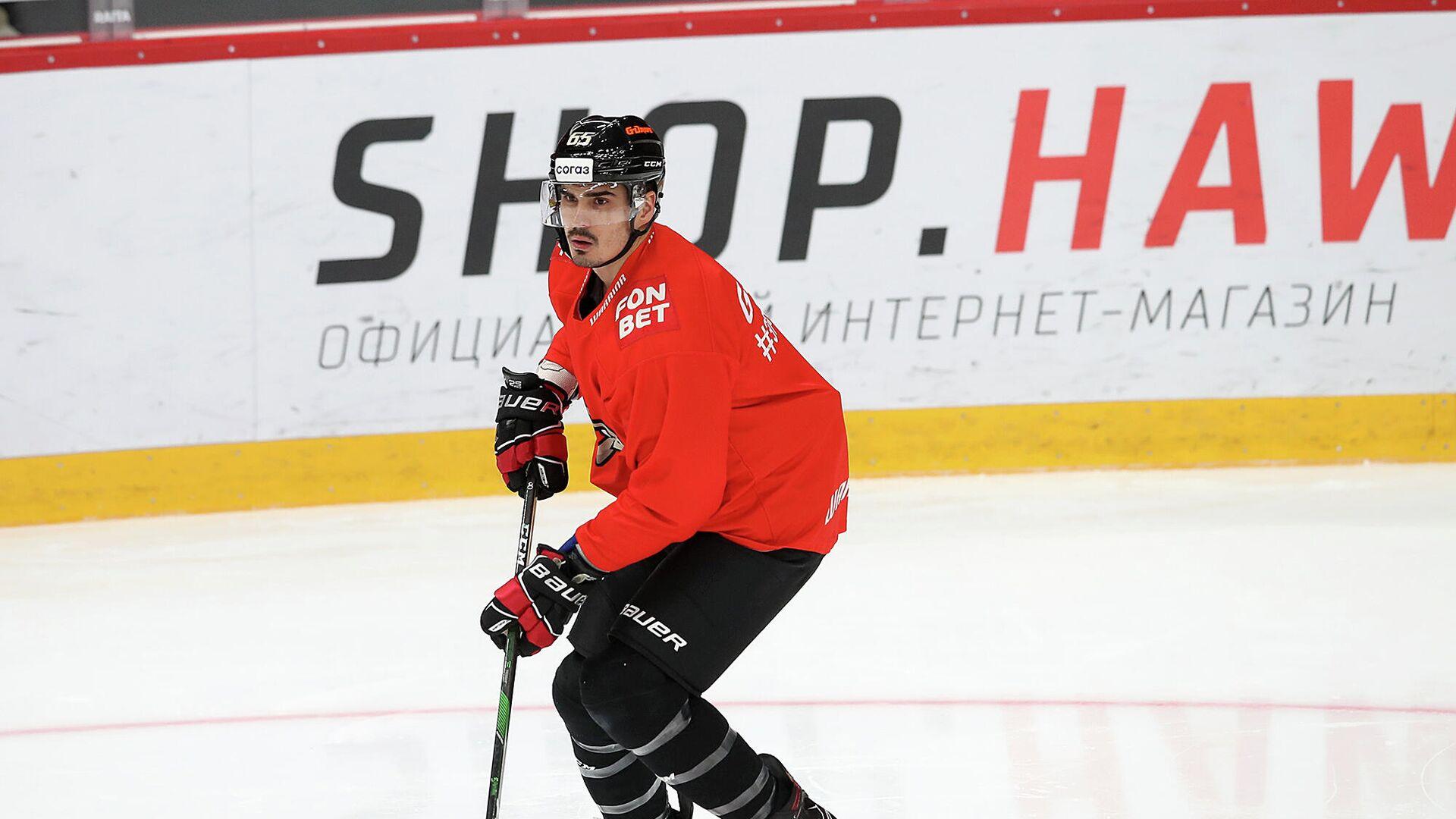 Хоккеист Авангарда Наиль Якупов - РИА Новости, 1920, 22.10.2020