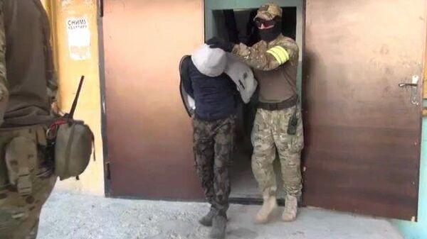 Задержание исламистов в Карачаево-Черкесии и Дагестане. Кадры ФСБ