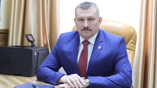 Руководитель космодрома Восточный Роман Бобков