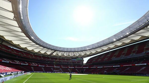 Стадион Ванда Метрополитано в Мадриде