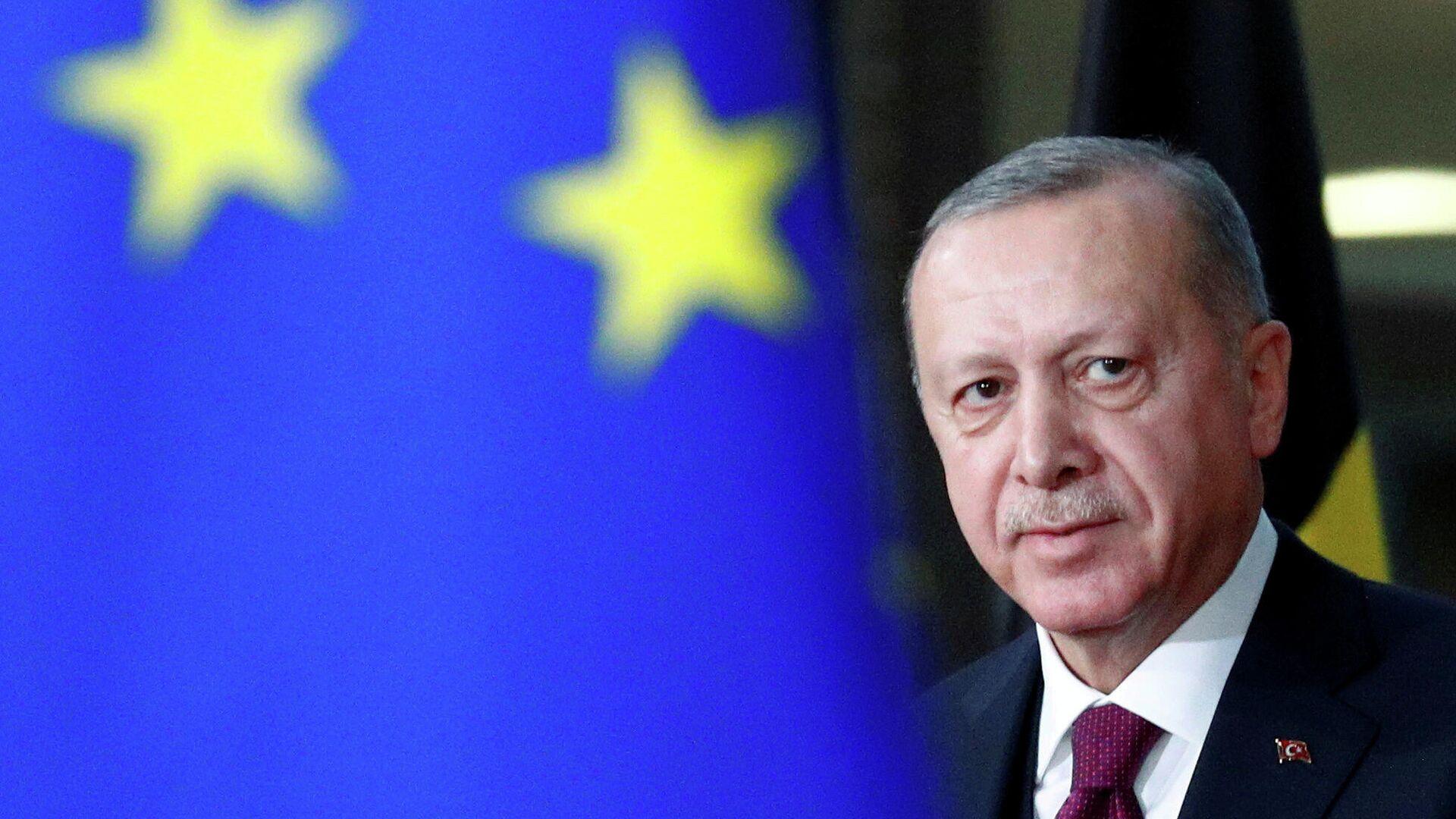 Президент Турции Реджеп Тайип Эрдоган - РИА Новости, 1920, 27.10.2020
