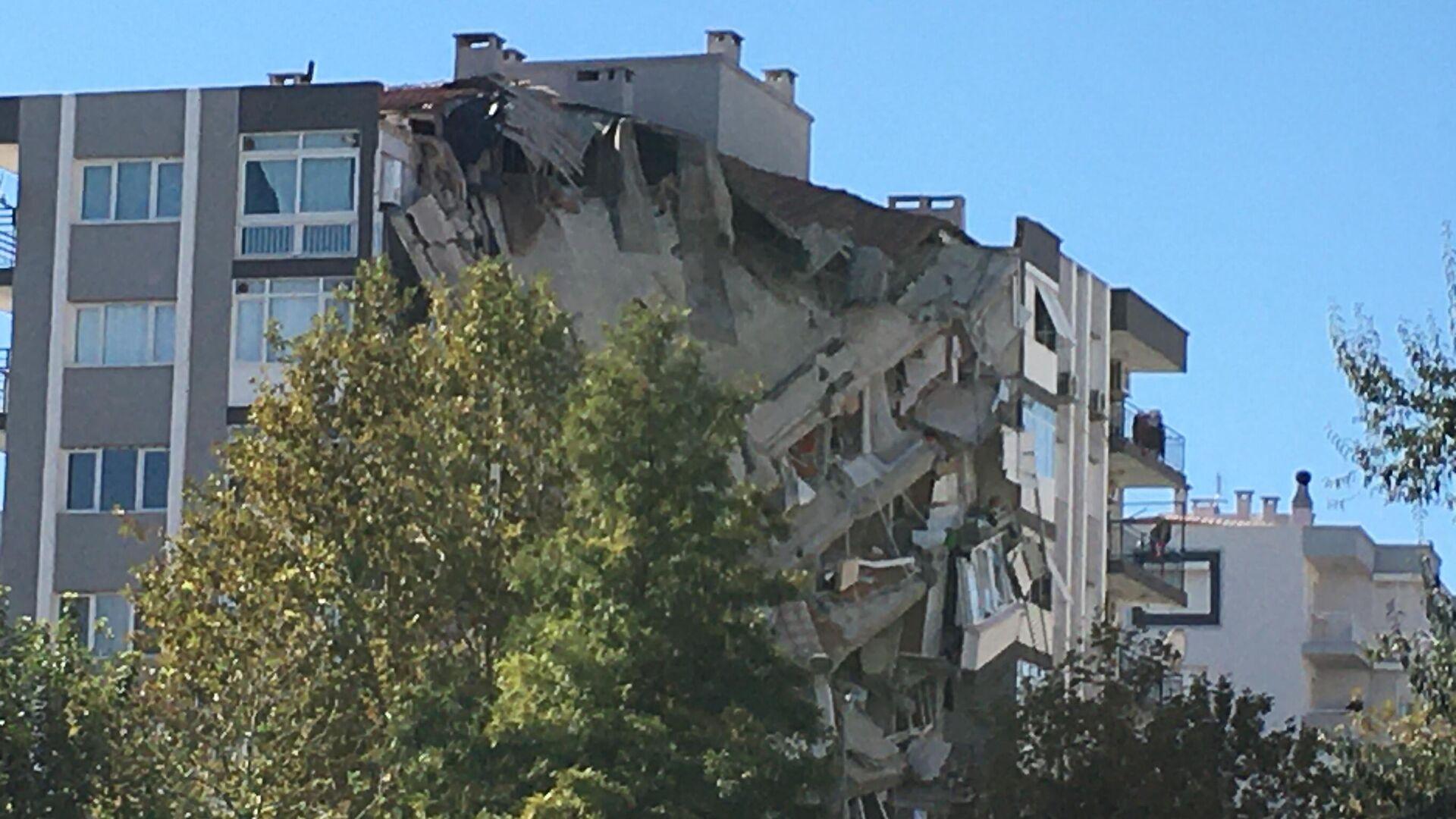 Последствия землетрясения в турецком Измире - РИА Новости, 1920, 01.11.2020