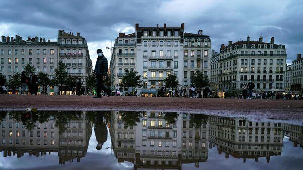 Город Лион во Франции