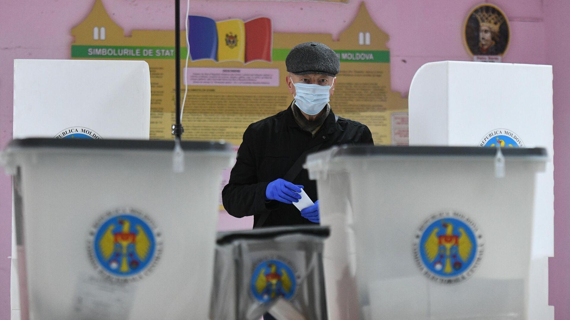 ЦИК признал выборы президента Молдавии состоявшимися