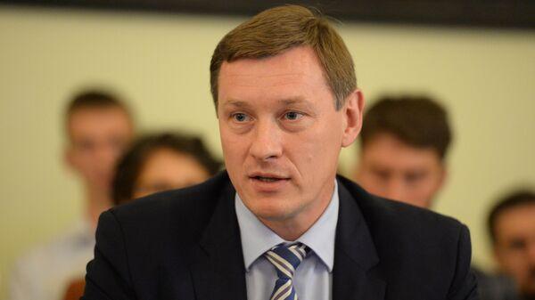 Заместитель председателя регионального правительства по строительству и ЖКХ Михаил Москвин