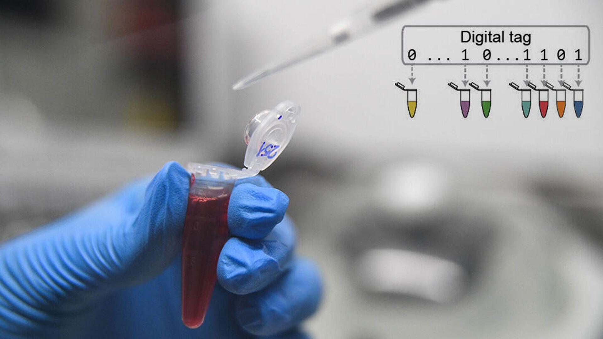 Система молекулярной маркировки на основе ДНК может заменить печатные штрих-коды - РИА Новости, 1920, 03.11.2020