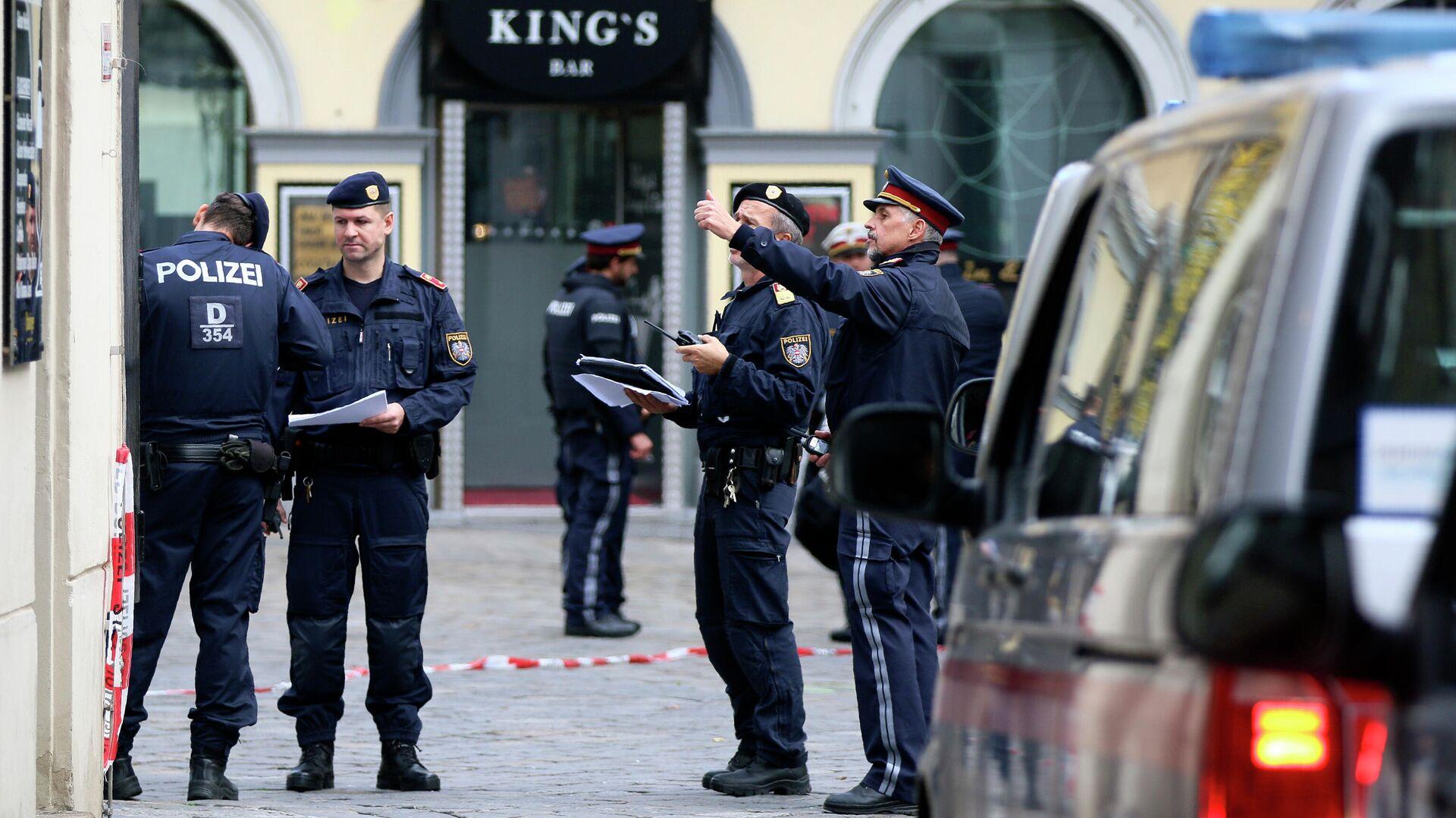 Полиция применила слезоточивый газ на митинге в Вене
