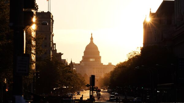Здание Капитолия США в Вашингтоне