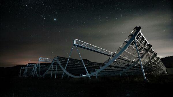 Радиотелескоп CHIME, с помощью которого был зафиксирован быстрый радиовсплеск FRB 200428