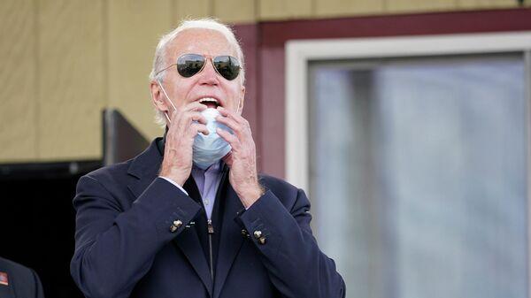 Кандидат в президенты США Джо Байден в Филадельфии