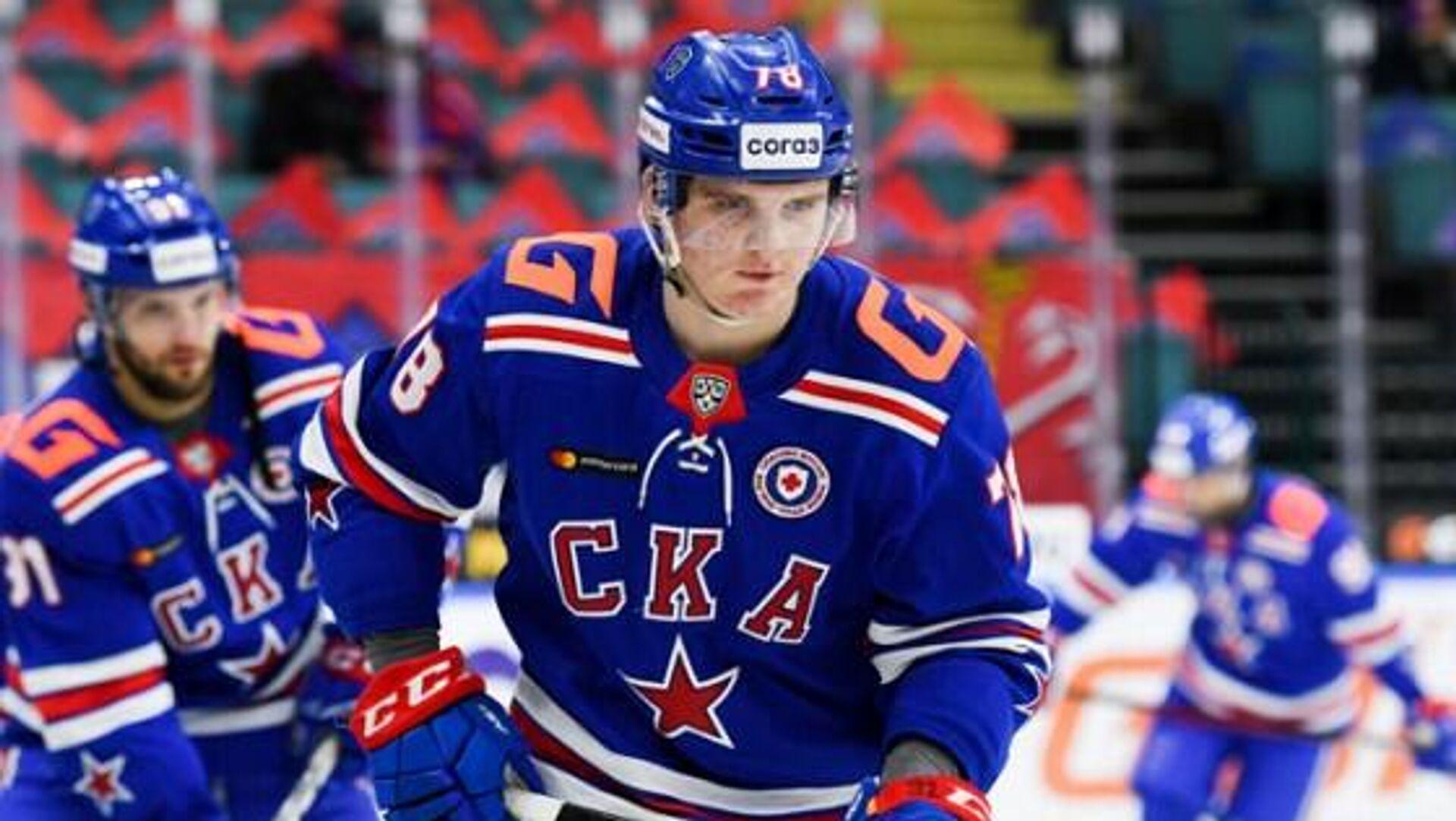 Хоккеист СКА Кирилл Кирсанов - РИА Новости, 1920, 01.05.2021