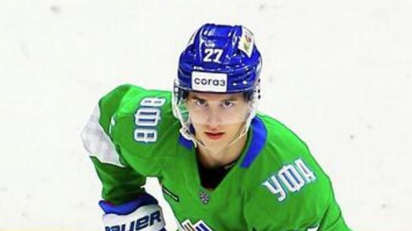 Хоккеист Салавата Юлаева Родион Амиров