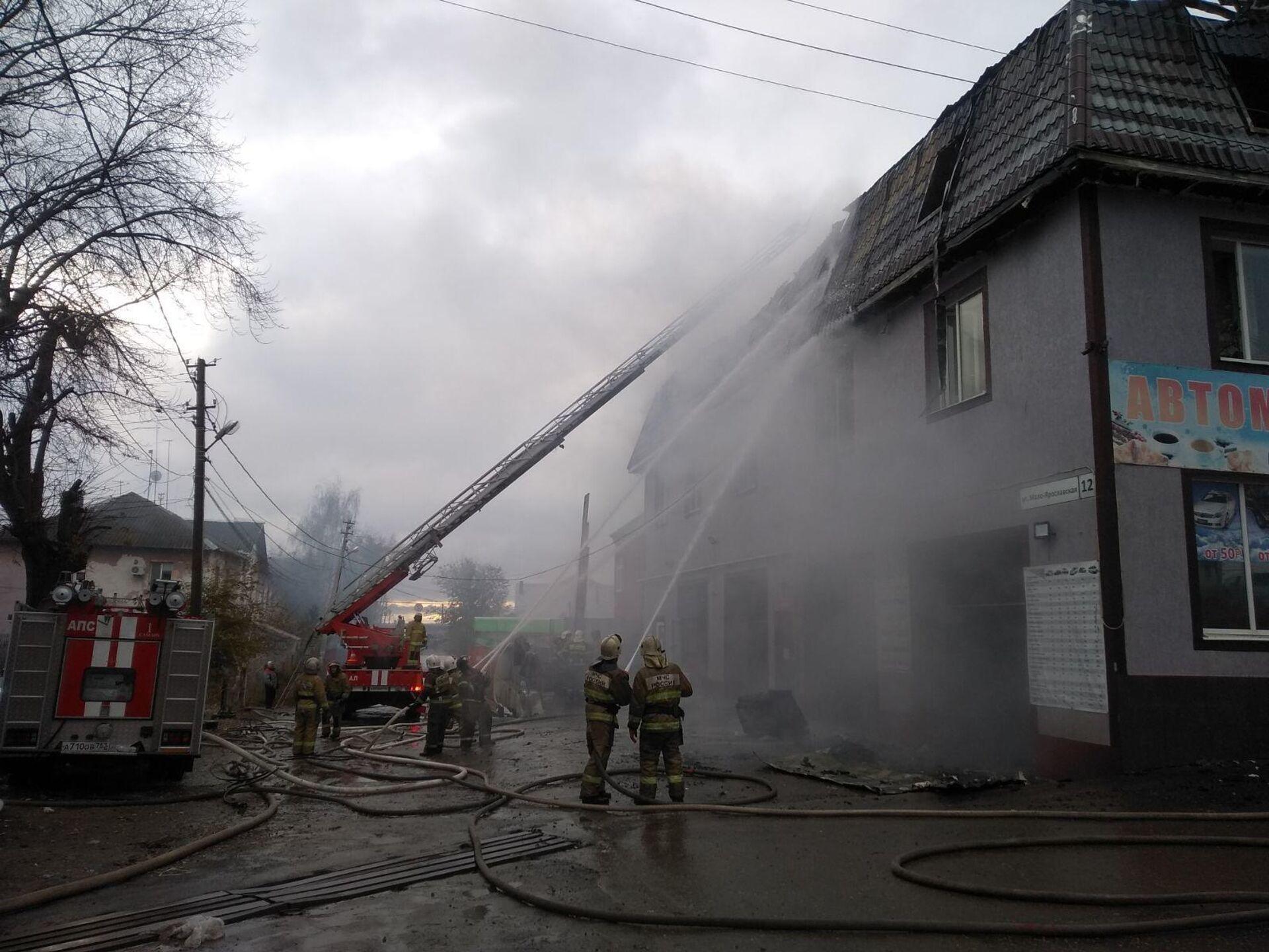 В Самаре задержали владельца здания, где при пожаре погибли четверо