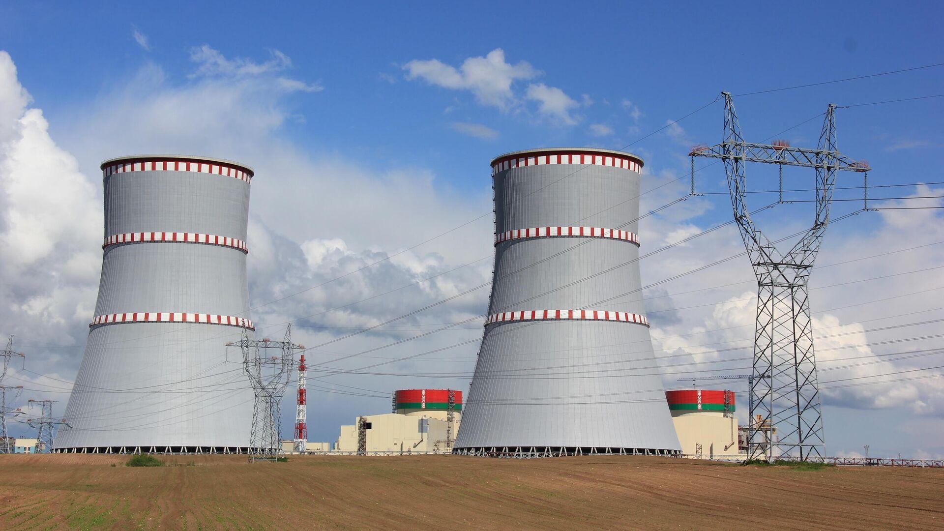 Энергетический пуск энергоблока № 1 Белорусской АЭС - РИА Новости, 1920, 11.11.2020
