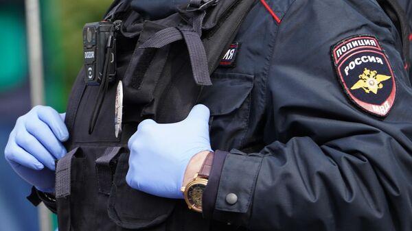 Сотрудник полиции России