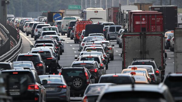 Пробки на шоссе