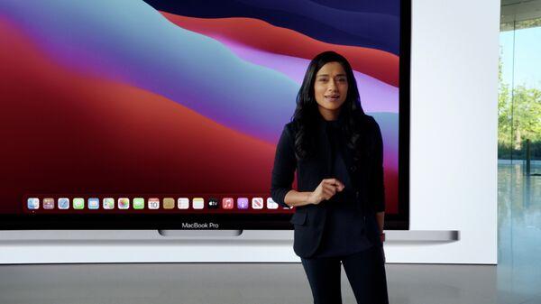 Презентация 13-дюймового MacBook Pro на базе процессора M1