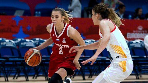 Баскетболистка сборной России Екатерина Федоренкова
