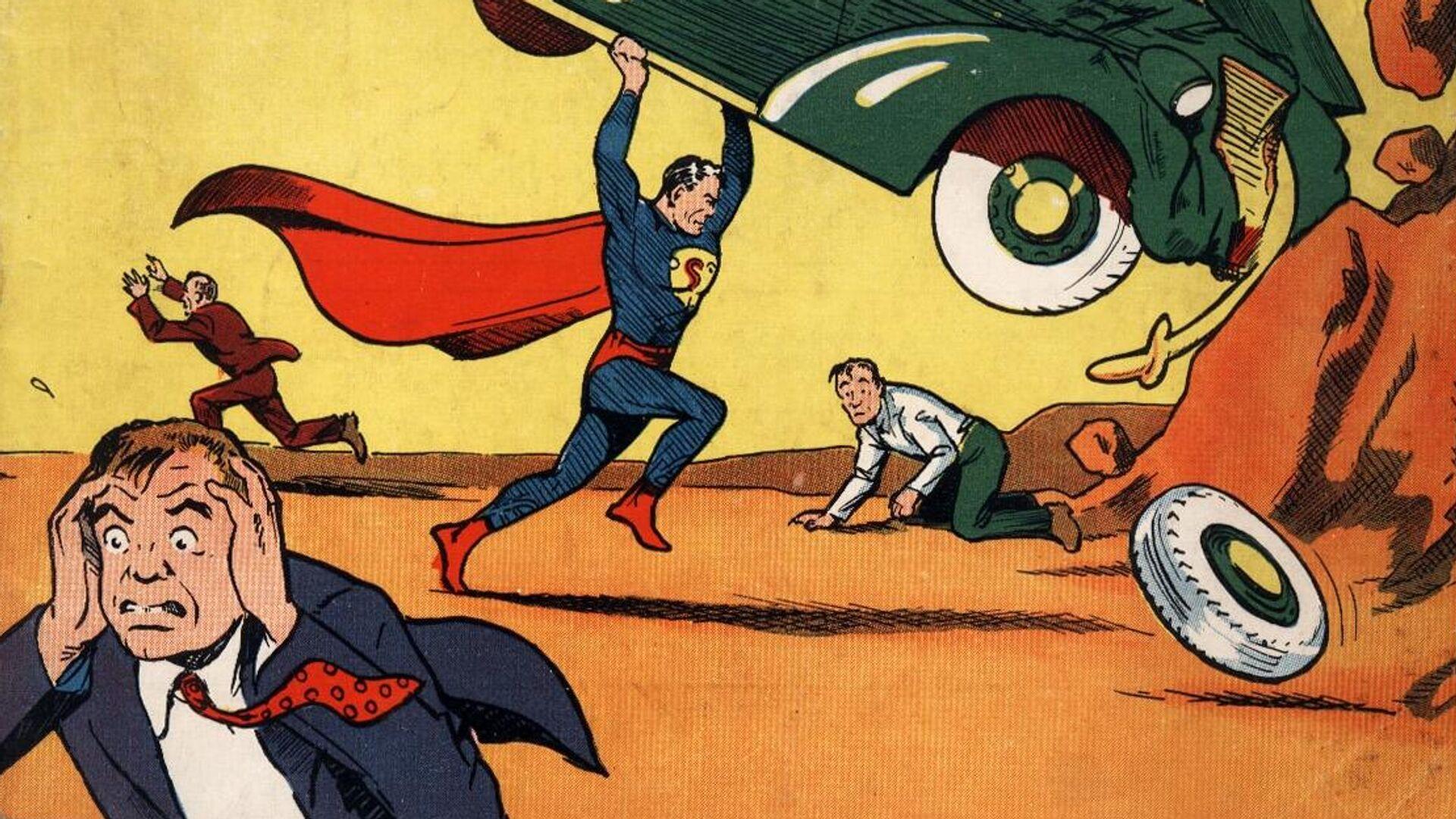 Обложка Action Comics 1938 года - РИА Новости, 1920, 04.03.2021