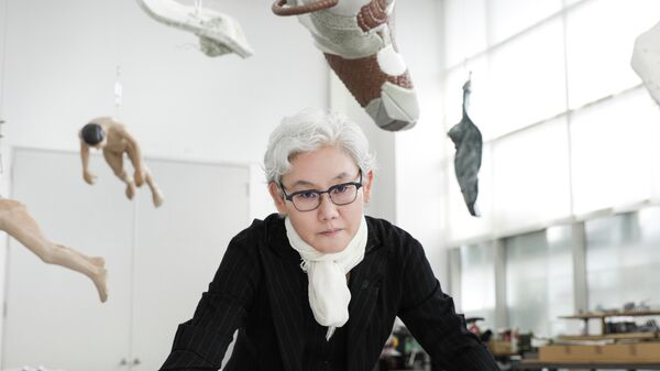 Южнокорейская художница Ли Бул