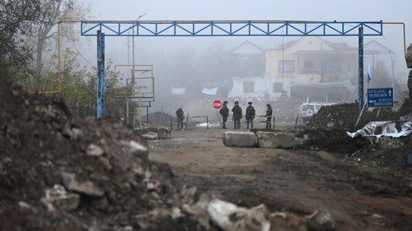 Контрольно-пропускной пункт в Нагорном Карабахе