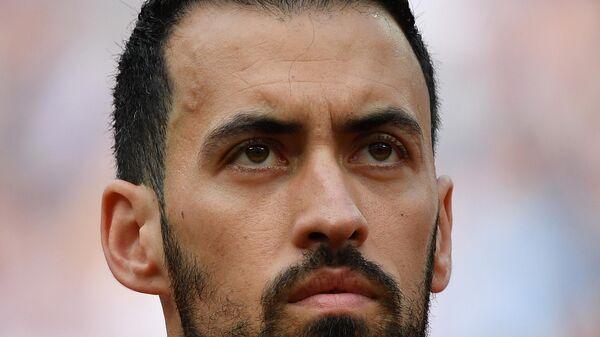 Футболист сборной Испании Серхио Бускетс