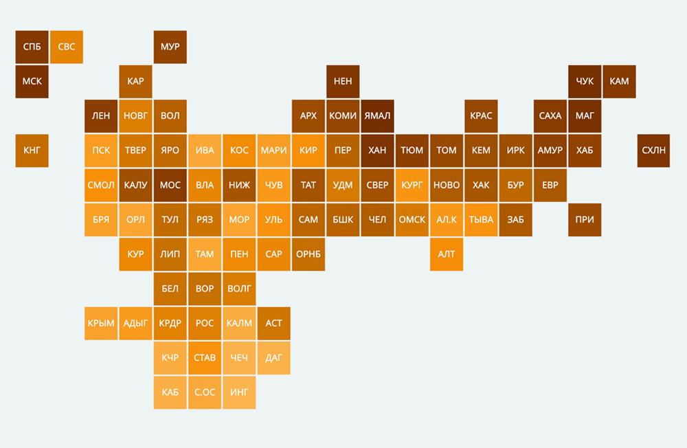 Рейтинг регионов по доступности покупки автомобилей — 2020 - РИА Новости, 1920, 16.11.2020