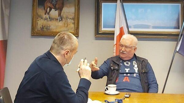 Экс-президент Польши, основатель и руководитель Солидарности Лех Валенса