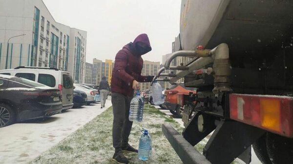 Ситуация в микрорайоне Минска Новая Боровая