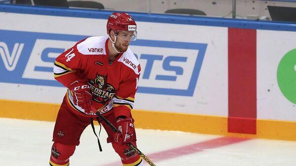 Игрок ХК Куньлунь Ред Стар Виктор Балдаев