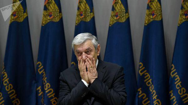 Министр по чрезвычайным ситуациям Армении Феликс Цолакян