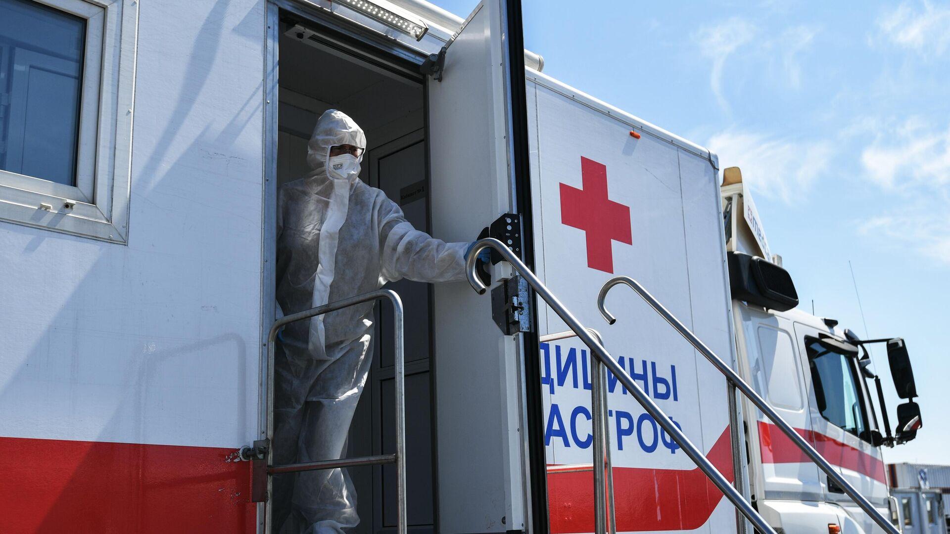 Во втором мобильном госпитале в Ялте помогут пациентам с COVID-19