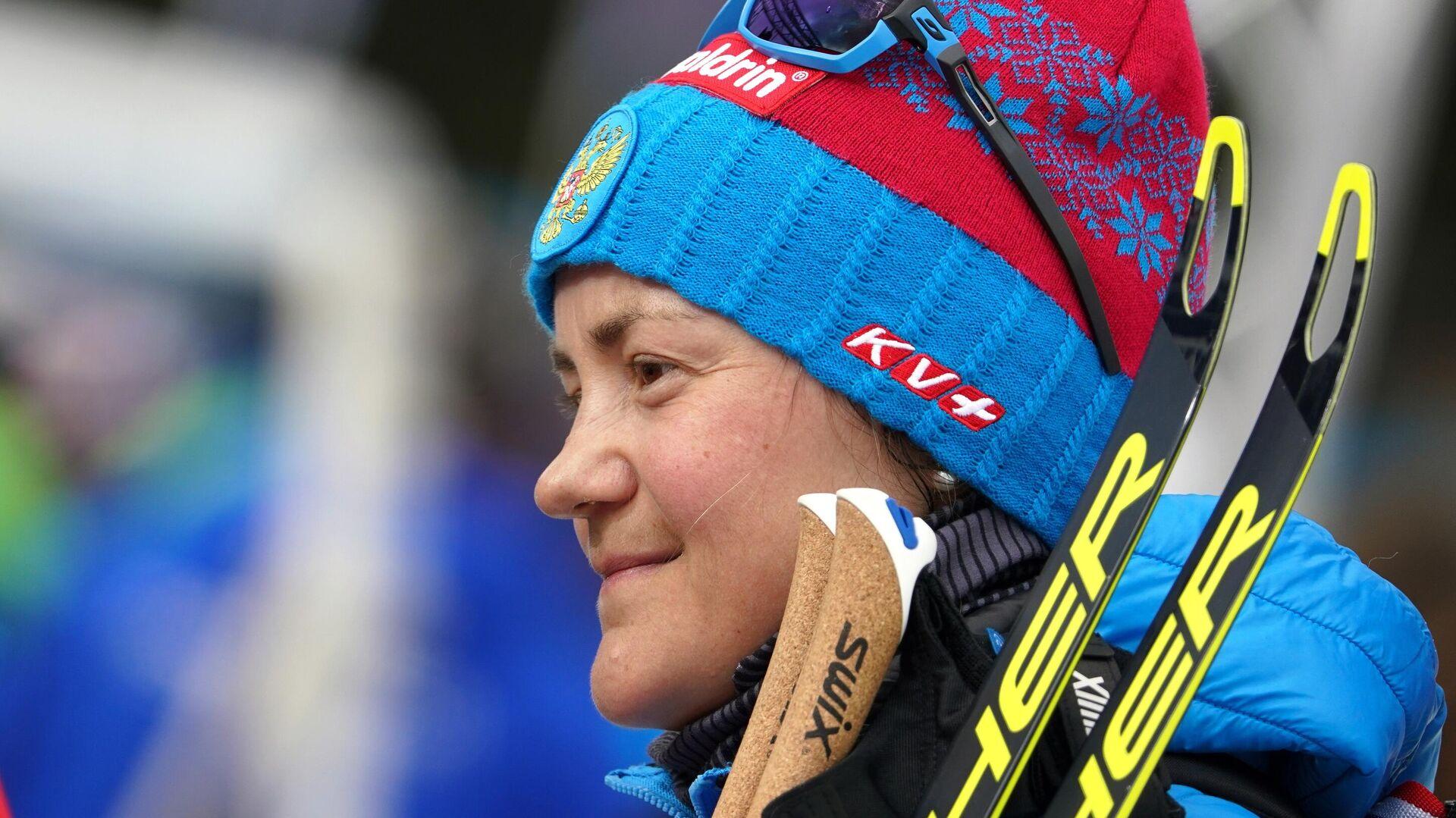 Биатлонистка Екатерина Юрлова-Перхт (Россия)  - РИА Новости, 1920, 18.11.2020