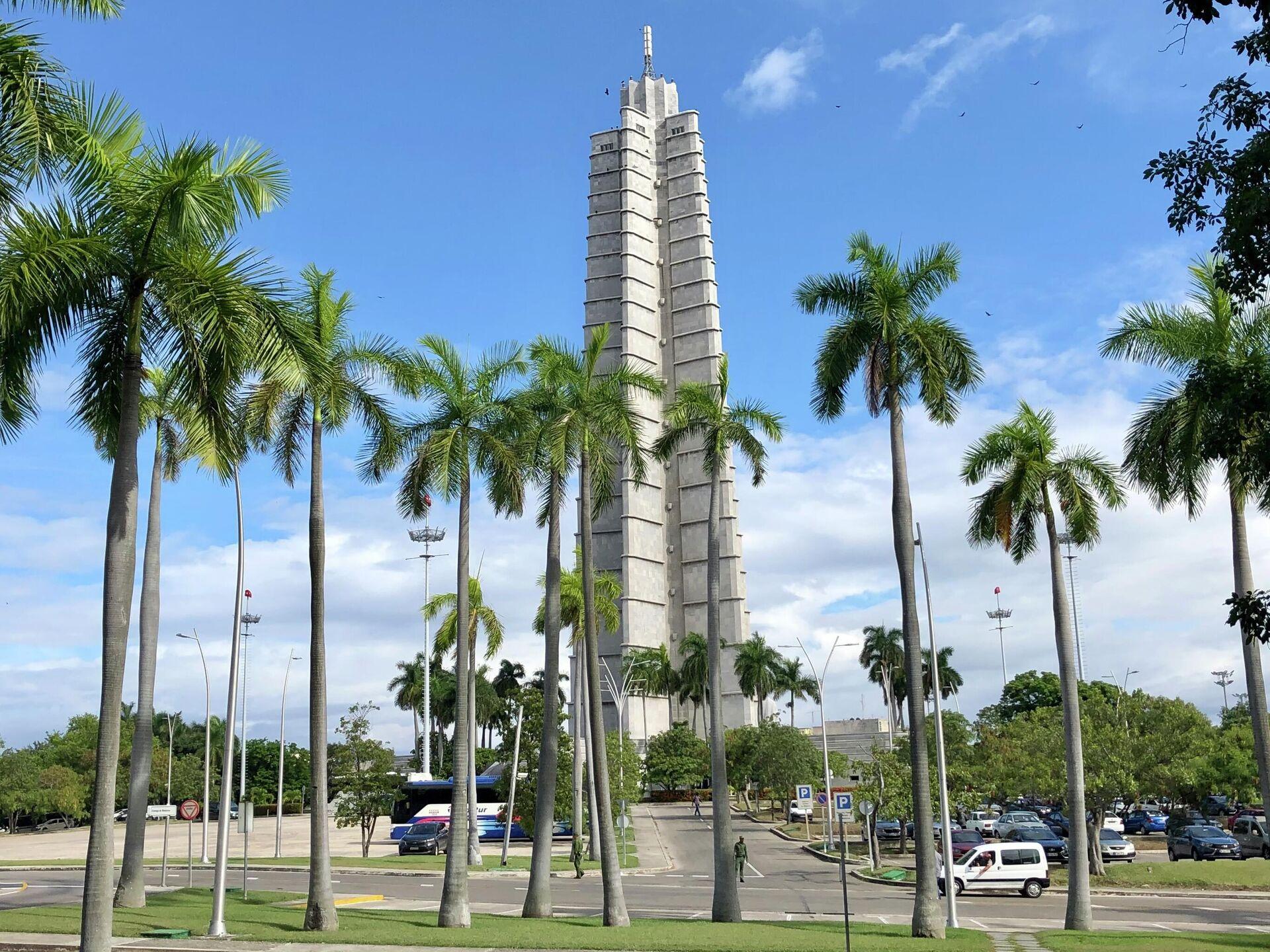 Мемориал национального героя Кубы Хосе Марти на площади Революции в Гаване. - РИА Новости, 1920, 18.11.2020