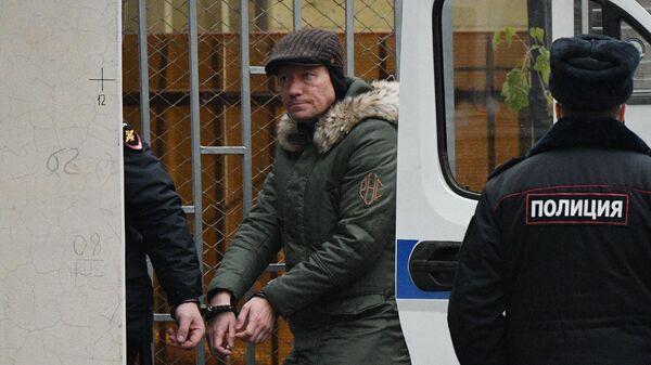 Заместитель председателя правительства Московской области Дмитрий Куракин доставлен в Басманный суд Москвы. 19 ноября 2020