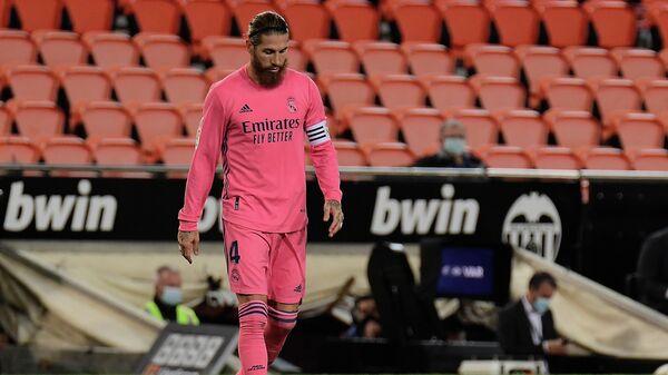 Защитник Реала Серхио Рамос