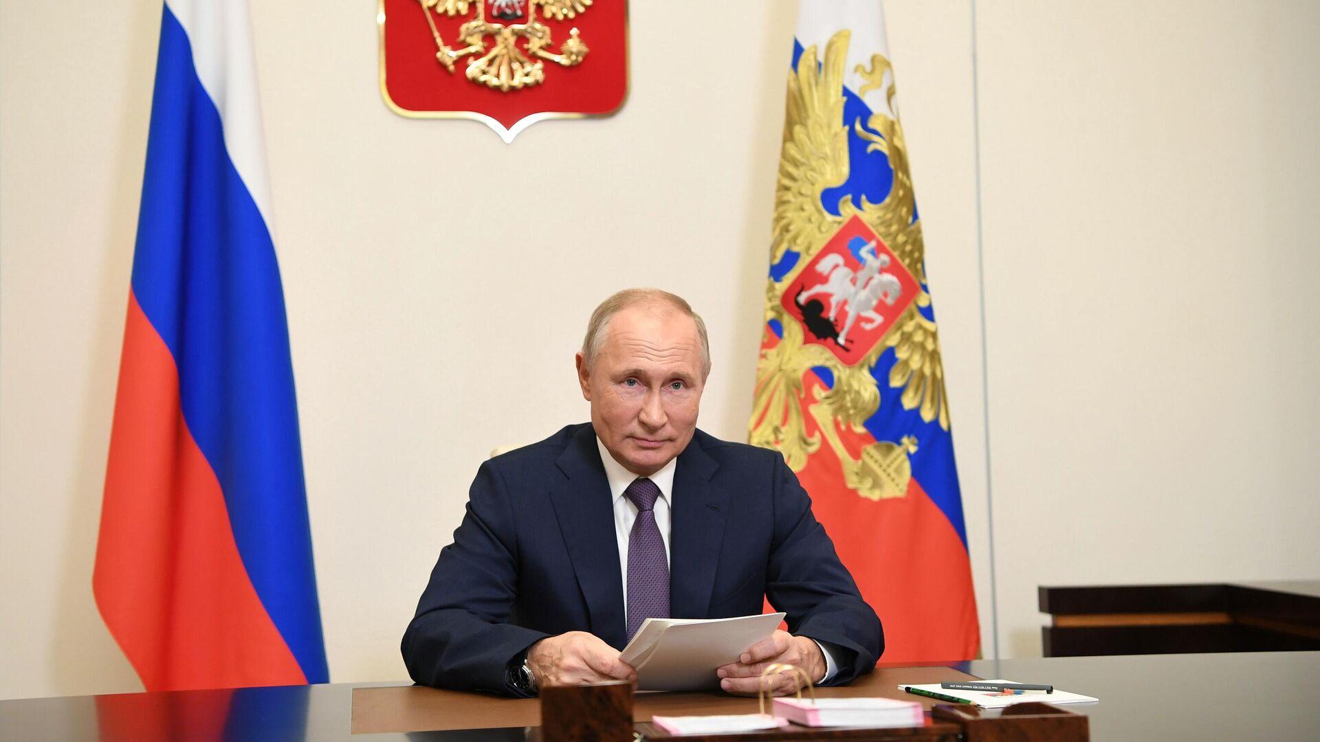 Президент РФ Владимир Путин - РИА Новости, 1920, 23.11.2020