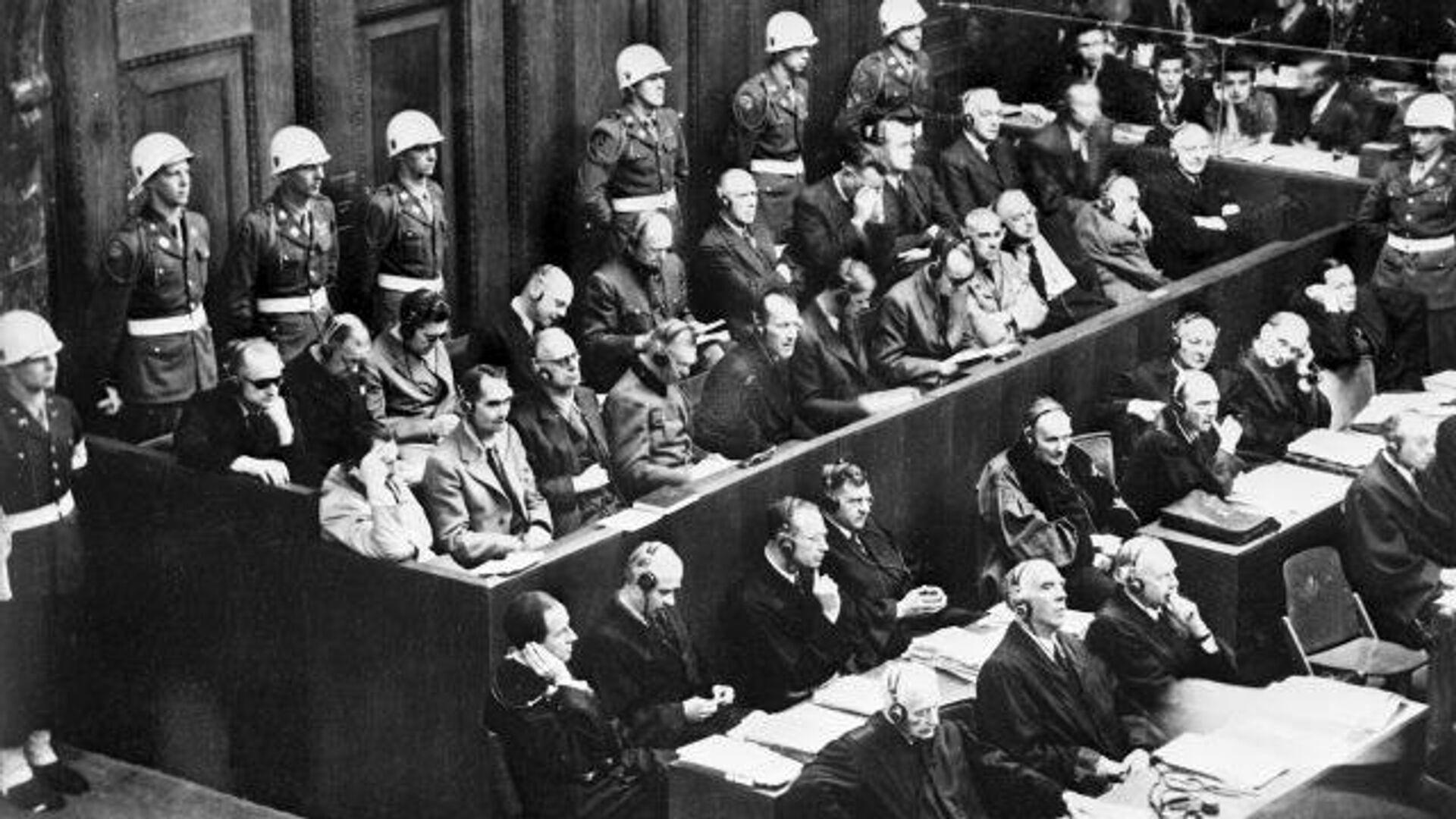 Суд, изменивший мир: 75 лет Нюрнбергскому процессу  - РИА Новости, 1920, 20.11.2020