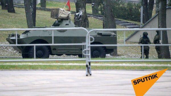 Военная техника в Минске. 22 ноября 2020