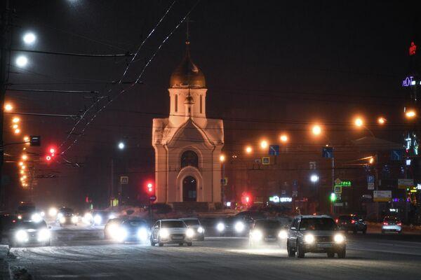 Часовня во имя святителя и чудотворца Николая на Красном проспекте в Новосибирске
